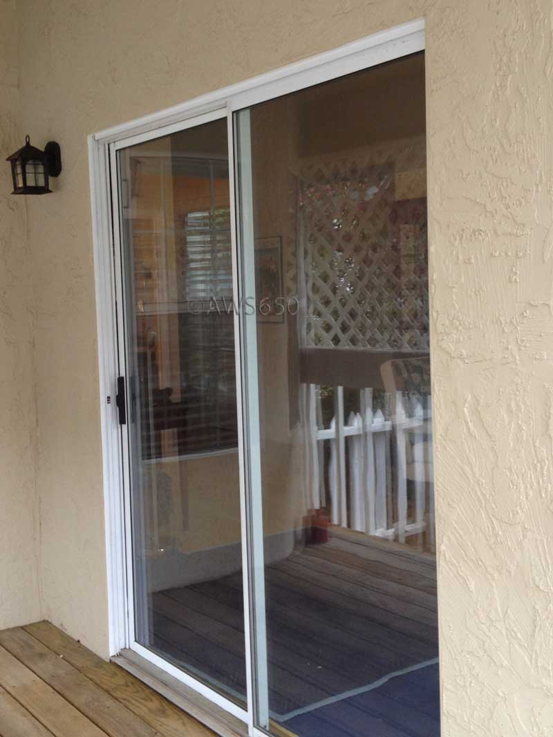 Exterior Patio Door Trim replacement windows before and after photos