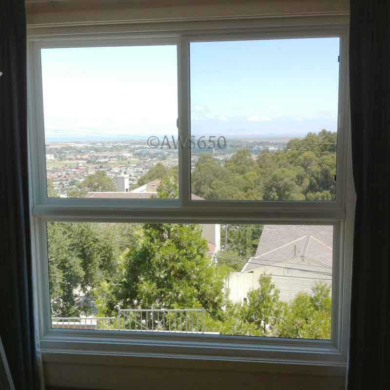 Replacement windows before and after photos for Fiberglass replacement windows